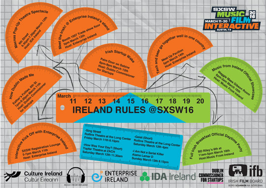 Ireland rules at South by Southwest