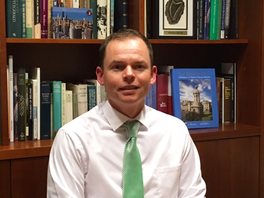Consul General of Ireland Brian O'Brien