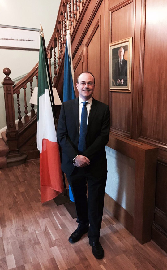 Consul General of Ireland Mark Hanniffy