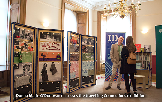 Donna Marie O'Donovan discusses the travelling Connections exhibition