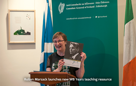 Robyn Marsack launches new WB Years teaching resource