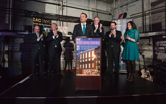 Taoiseach in New York for St. Patrick's Day festivities