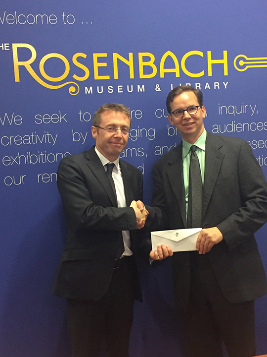 The Rosenbach Museum & Library