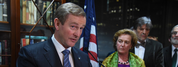 Remarks by An Taoiseach Enda Kenny, TD at a reception at the Consulate General in New York, Friday 3 December 2016