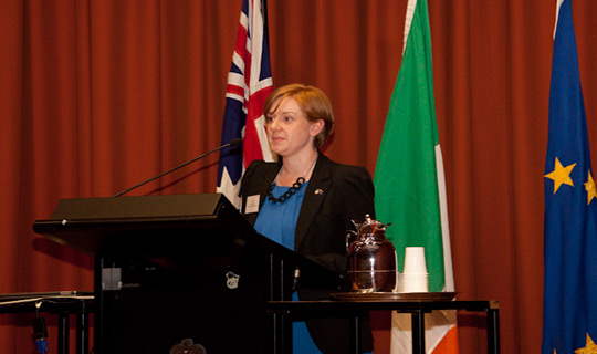 The Consul General of Ireland to Sydney, Jane Connolly