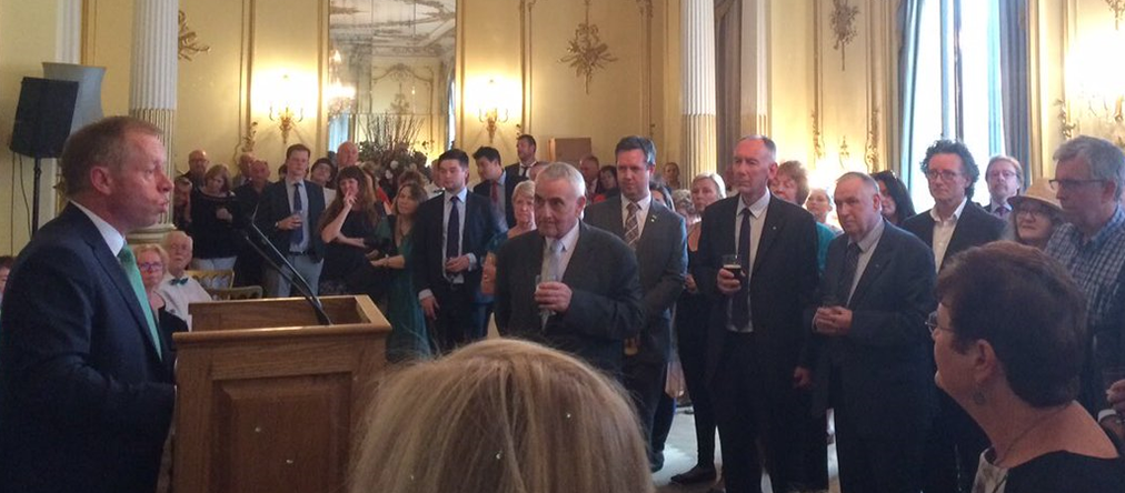 Welcome Message from Minister of State Ciarán Cannon