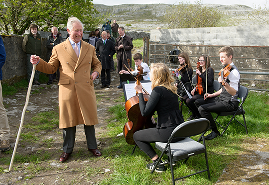 Visit to Ireland by Prince of Wales and Duchess of Cornwall – May 2015
