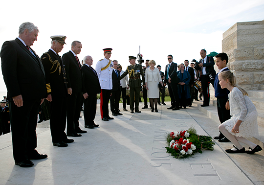 Commemorating Gallipoli