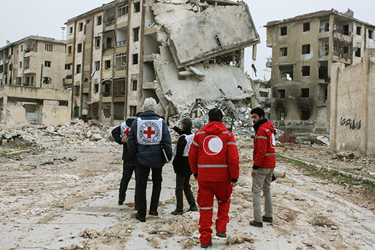 Humanitarian Assistance Syria. Credit: ICRC
