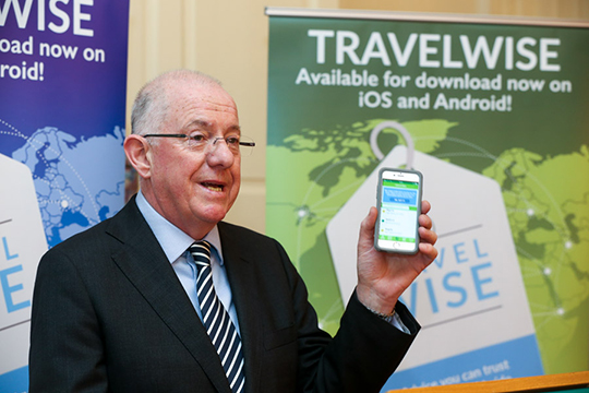 In June 2016, the Department's Consular Directorate launched a new, innovative and citizen-focused smartphone app - TravelWise.