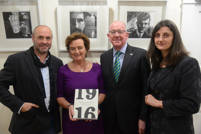 Minister Flanagan visits New York to launch USA Ireland 2016 Programme