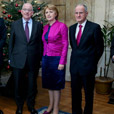 Mary McAleese delivers lecture at Iveagh House