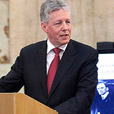 Peter Robinson delivers lecture at Iveagh House