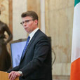 Patrick Griffin delivers lecture at Iveagh House
