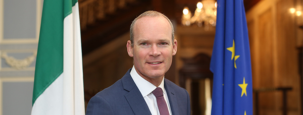 Minister for Foreign Affairs & Trade, Simon Coveney T.D.