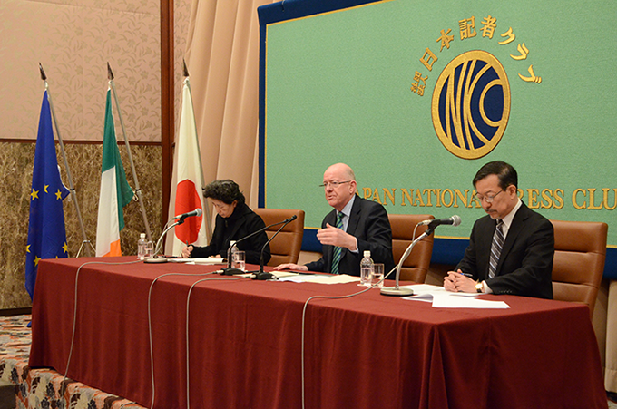 Minister Flanagan delivers speech to the Japan National Press Club