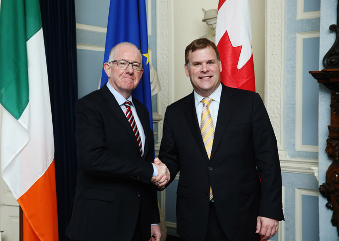 Minister Flanagan welcomes strong Ireland-Canada ties while hosting
