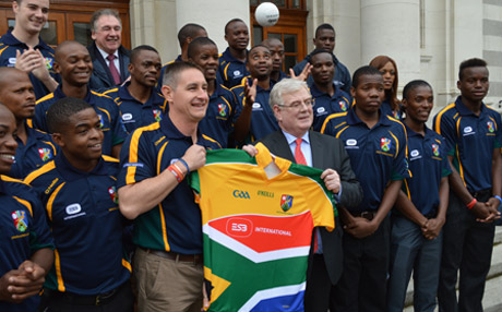 South Africa Gaels visit