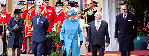 Irish State Visit 2014 - President Higgins and Queen Elizabeth II