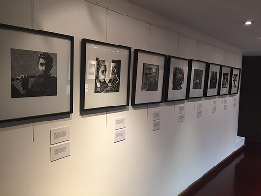Portraits and Lives at the Argentine National Library. Picture courtesy of Yanina Bevilacqua