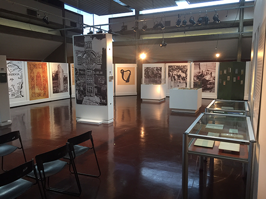 1916 exhibition at the Argentine National Library. Picture courtesy of Yanina Bevilacqua