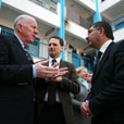 Visit to Gaza by Minister for Foreign Affairs and Trade, Charlie Flanagan.