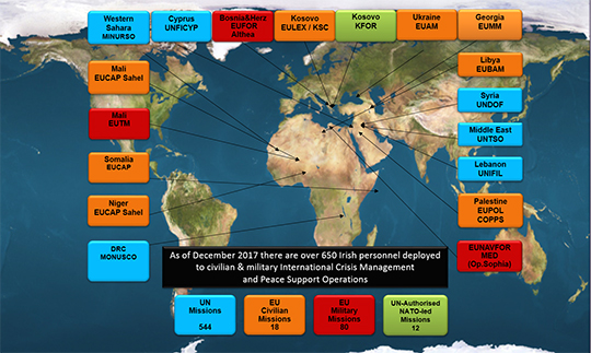 Overseas Deployments Map