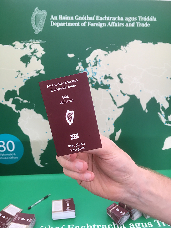 Passport for Ploughing
