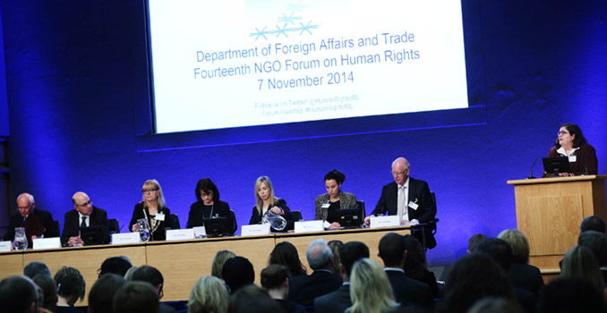 DFAT NGO Forum on Human Rights