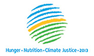 Hunger Nutrition Climate Justice Logo