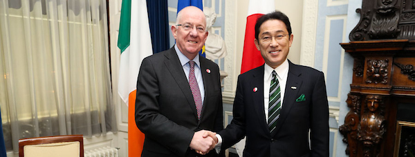 Visit to Ireland of Minister for Foreign Affairs of Japan, Mr. Fumio Kishida