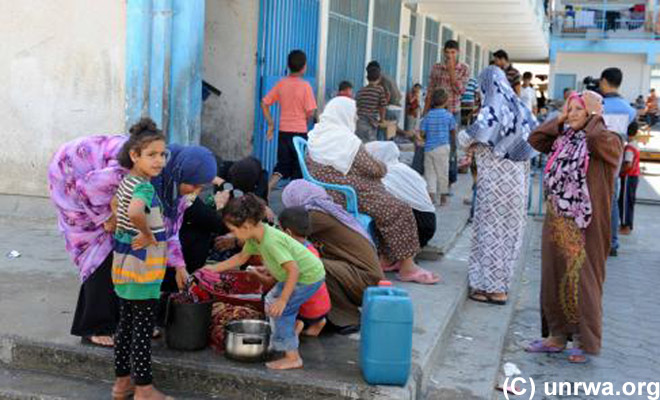 UNRWA - Over 100,000 displaced Appeals for support