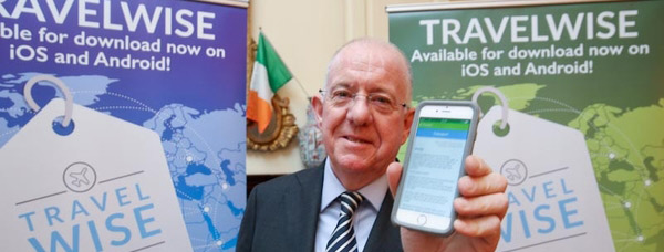 Minister Flanagan launches TravelWise smartphone app