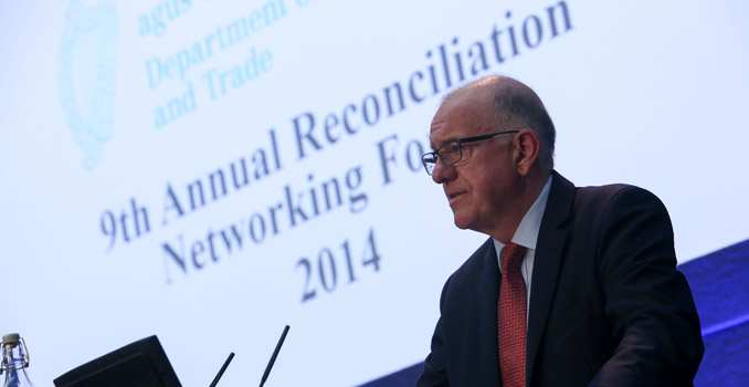 15-09-2014 NO REPO FEE Minister Flanagan calls for renewed effort in reconciliation in Northern Ireland.