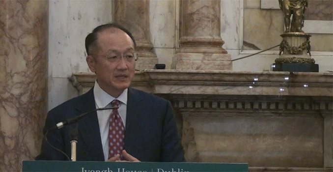 World Bank President Dr Jim Yong Kim
