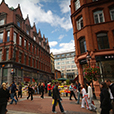 Grafton-Street-in-Dublin-City-with-Westbury-Hotel