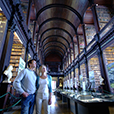 Long room in the old library of Trinity College Dublin