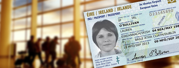 New Irish Passport Card