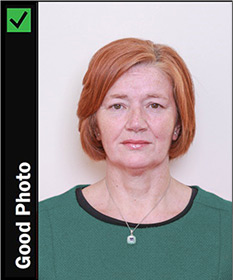 Passport Online Example Photo