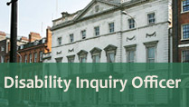 Contact Disability Inquiry Officer