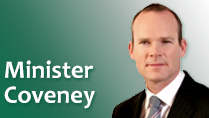 Minister for Foreign Affairs and Trade, Simon Coveney TD