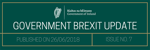 Government Brexit Update 26 June 2018