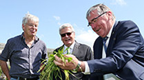 State Visit-  H.E. Mr Joachim Gauck, Droney's beef and sheep farm, Ballyvaughan, Co. Clare