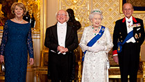 State Banquet hosted by HM Queen Elizabeth II