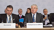Tánaiste addressing OSCE Ministerial