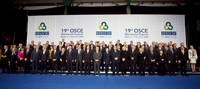 OSCE Ministerial Council Dublin 2012, Heads of Delegations