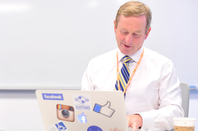 Taoiseach - Facebook live chat