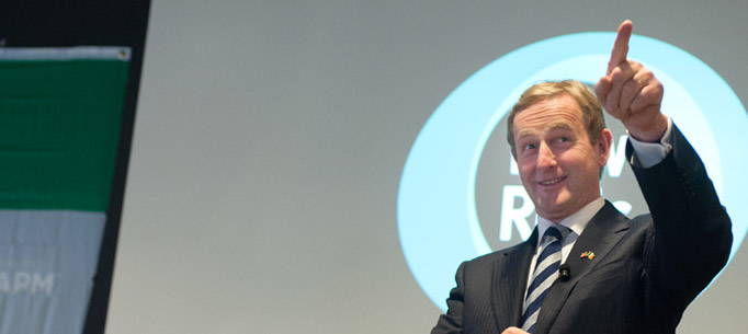 Taoiseach at New Relic San Francisco