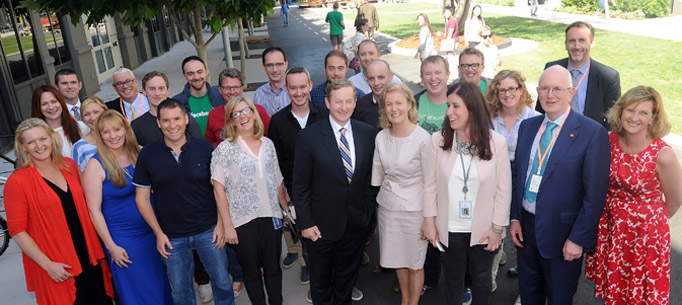 Taoiseach meeting with Facebook staff
