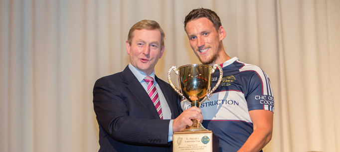 Taoiseach presents Cup to Younger Irelanders